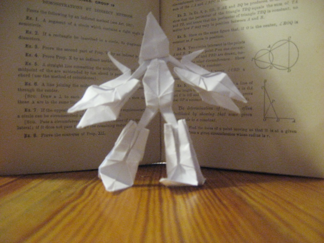 Results For How To Make Origami Man